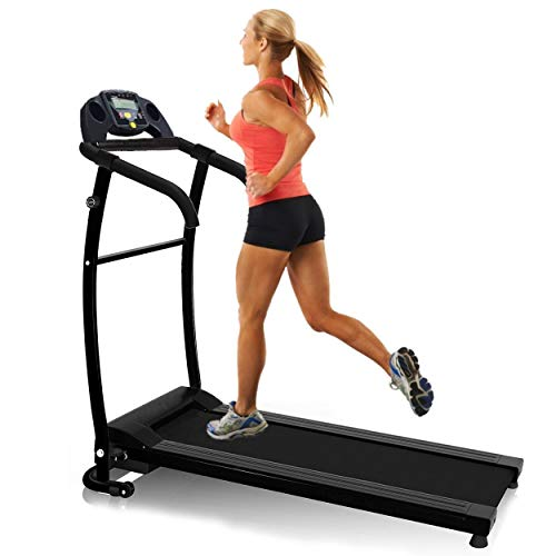 410FZLk6eLL. SS500  - Nero Sports Folding Treadmill Motorised Running Machine Electric Power Fitness Exercise New ✔ 10km ✔ SPACE SAVER ✔WATER BOTTLE ✔ LED Computer