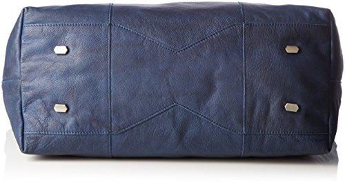 Liebeskind Berlin Damen Zama Henkeltaschen, 61x35x22 cm Blau (indigo blue 5816)