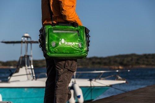 Amphibious Tasche Compass Verde Trasp