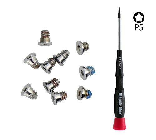 Bodenschrauben und Pentalobe Schraubendreher für MacBook Retina 15