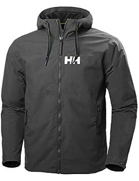 Helly Hansen Rigging Rain, Chaqueta para Hombre, Negro, X-Large (Tamaño del fabricante:XL)