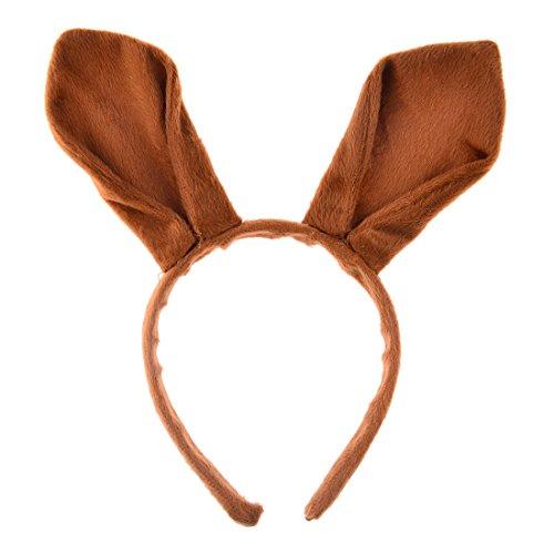 Känguru Ohren Stirnband - LoKauf Känguru Ohren Haarreif Kopfbedeckungen für