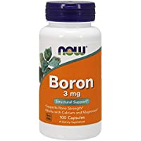 Now Foods Boron 3 mg 100 capsules