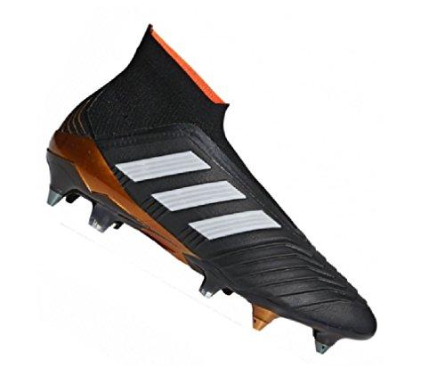 adidas Herren Predator 18+ SG Fußballschuhe schwarz (Negbas/Ftwbla/Rojsol 000)