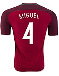 Generic 20162017Portugal 4Miguel VELOSO Home Football Jersey in Rot