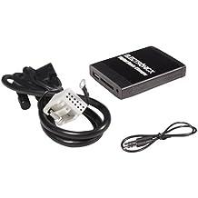 Adaptador de radio para coche USB SD AUX MP3 CD para VW, Audi, Skoda y Seat Beat Audi 12 pines carro auto