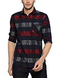 Campus Sutra Men's Regular Fit Shirt