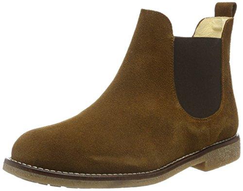 Jonny's Damen Alfhild Chelsea Boots Braun (Roble)