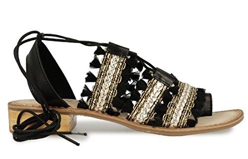 Gioseppo , Sandales pour femme Noir