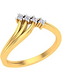 P_Gitanjali Designer Collection 18k Yellow Gold Plated 925 Sterling Silver Diamond Ring For Womens_PGLR4004