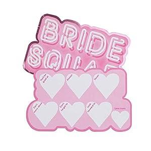 Neviti 775981 - Tarjetas de consejos para despedida de soltera, color rosa, 14,7 x 10,5 x 0,1 cm