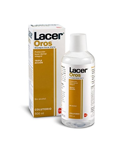 Lacer - Oros colutorio, Enjuague dental, 500ml
