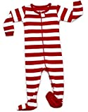 Red & White Footed Pajama 18-24 Months