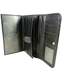 Compagnon, tout en un, porte chéquier portefeuille monnaie 12 CB cuir de vachette