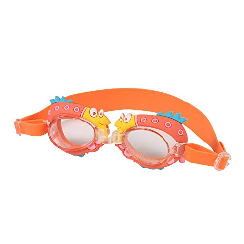 MHP wasserdichte Schutzbrille der Kinderschutzbrillen HD-Anti-Fogbaby Bequeme, orange