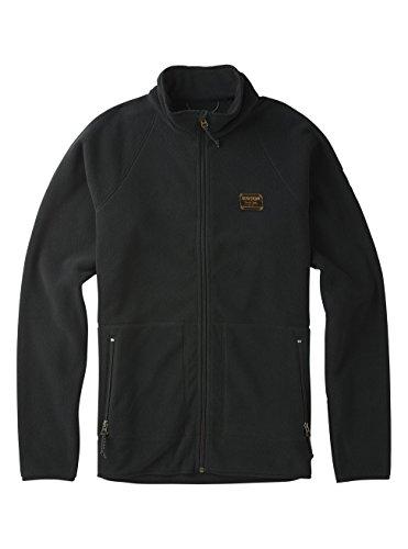 Burton Herren Ember Full-Zip Fleece Fleecepullover, True Black, M Burton Full Zip Sweatshirt