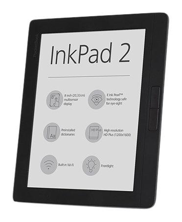 PocketBook PB840-2-M-WW E-Book-Reader Tablet-PC (Intel Atom, 0.512GB RAM) mist grau
