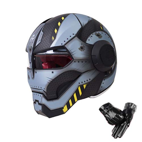 Retro Full Face Motorradhelm Anti Fog Wind Transparente Linse Motorradhelme Cruiser Chopper Moto Motocross Racing Sicherheitskappen