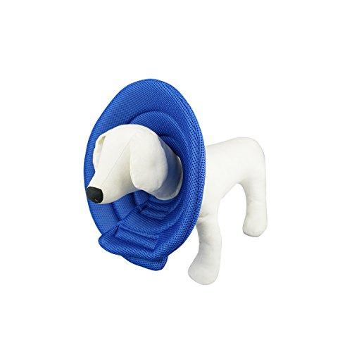 Ondoing Hunde Halskrause Halskragen Schutzkragen Royal Blue M