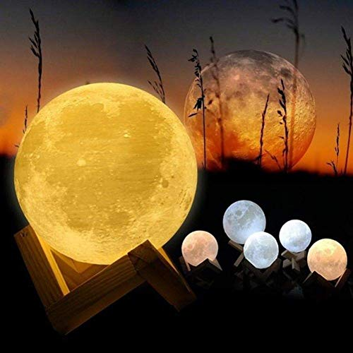 Zoom IMG-2 3d luna lampada led agm