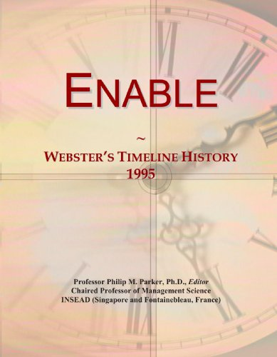 Enable: Webster's Timeline History, 1995