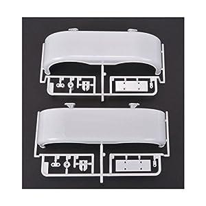 Tamiya 319000761H de Piezas carrocería Hi. (2) Grand Hauler, Color Blanco