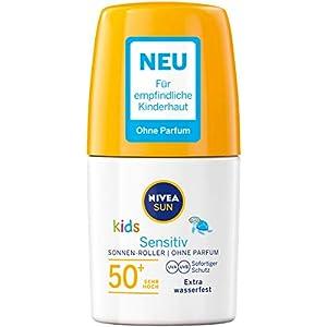 Nivea Sun Kids Sensitiv – Juego de 2 rodillos de sol para niños, 50 ml