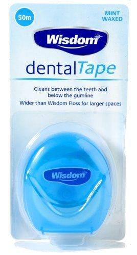 Wisdom Dental Mint Waxed Tape by Wisdom
