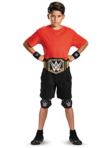 Disguise WWE Champion Kit Child WWE Costume, One Size Child, One Color by ()