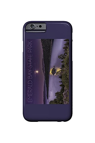 Lake Tahoe, California - Emerald Bay State Park - Lake and Purple Sky (iPhone 6 Cell Phone Case, Slim Barely There) - Bay State Park