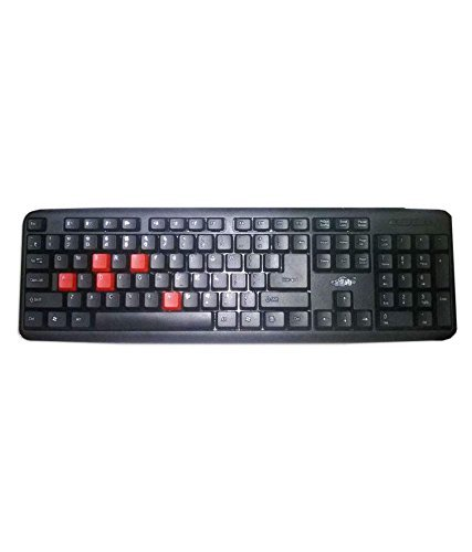 Adnet AD 510 Wired USB Laptop Keyboard  Black