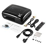 LESHP 720P Projecteur LCD Haute résolution Haute résistance 3200 LM Multimédia Home Cinéma HDMI VGA USB pour Ordinateur Portable TV (UE)