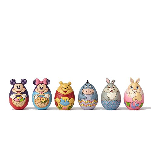 Enesco 4057679-Disney Tradition Set von Eier Disney Figuren, 12 Stück
