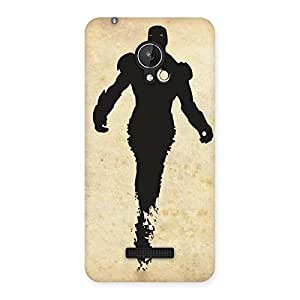 Special Black Genius Multicolor Back Case Cover for Micromax Canvas Spark Q380