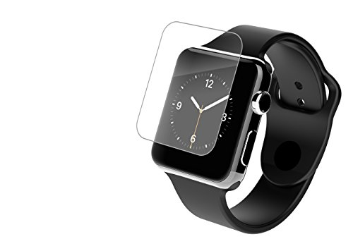 InvisibleShield HD - Protector de pantalla HD Clarity para Apple Watch, 42 mm