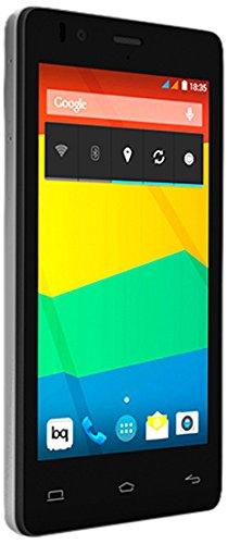 Bq 03BQAQU20 Aquaris E4.5 Smartphone (11,4 cm (4,5 Zoll) IPS qHD-Display, 8 Megapixel Kamera, 1GB RAM, Dual-SIM, WiFi, 8GB interner Speicher, Android 4.4) Qhd-smartphone