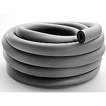 10m Isolierschlauch 15x20mm PE-Isolierung für Heizrohre selbstklebende Dämmung