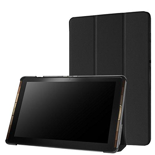 Acer Iconia Tab 10 A3-A40 Housse Etui, Pasonomi® Ultra Slim étui Housse Cuir Coque avec Support pour Acer Iconia Tab 10 A3-A40 Tablette, Noir