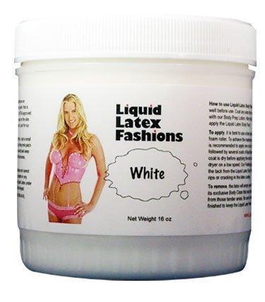 (Ammonia Free Liquid Latex Body Paint - 32oz White by Liquid Latex Fashions)