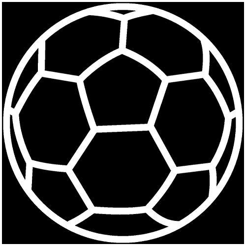 Samunshi® Autoaufkleber Handball Aufkleber in 9 Größen und 25 Farben (10x10cm weiß)