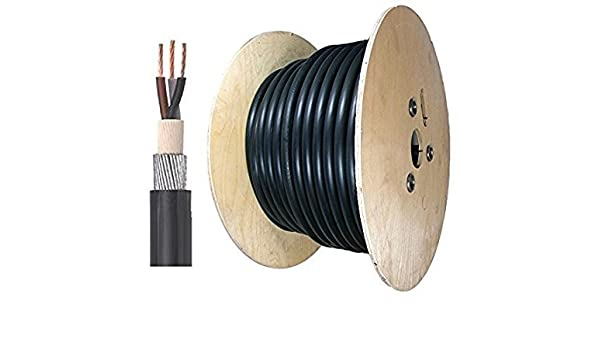 SWA cable 6943X 3 core 3 x 35 mm² armoured cable cut to order price per metre