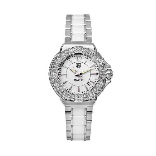 TAG Heuer WAH1215BA0861 - Orologio da polso, ceramica, colore: bianco