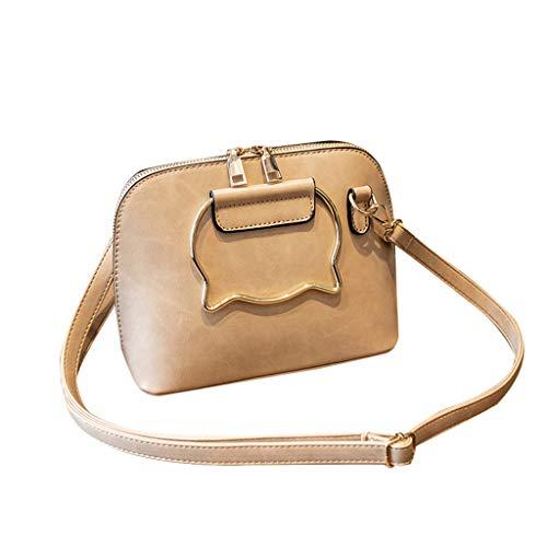 Rifuli®Mode Damen Messenger Bags Tasche Handtasche Schultertasche Umhängetasche Mode Neue Handtasche Frauen Umhängetasche Schultertasche Strand Elegant Tasche Mädchen 0520#008