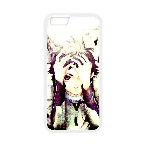 Deadman Wonderland coque iPhone 6 Plus 5.5 Inch Housse Blanc téléphone portable couverture de cas coque EBDXJKNBO12891
