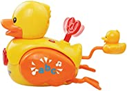 VTech Baby Bath Toy Wind and Waggle Ducks - Yellow, 151603