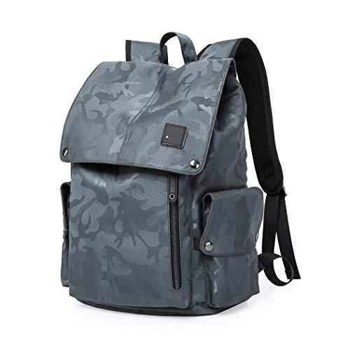 WindTook Herren Laptop Rucksack Daypack Tagesrucksack Schulrucksack für 15,6 Zoll Notebook Computer, Wasserabweisend, Camouflage Blau