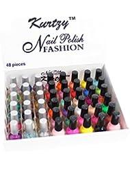 Lot de base! 48 Vernis A ongles deco nail tip gel liner de vernis à ongles par Kurtzy