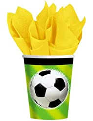 8 Gobelets Football Party (26,6 cl)