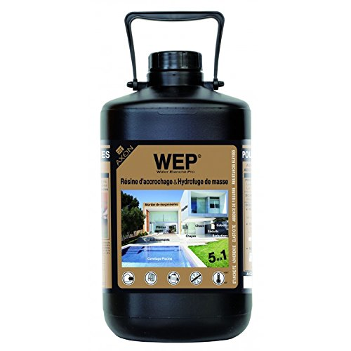 Kleber Anbacken und wasserabweisend-Masse-WEP Water Wasserdicht Pro-5Liter