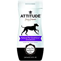 ATTITUDE - Natural Pet Conditioner Deodorizing Coco Lime - 8 fl. oz. (240 ml)